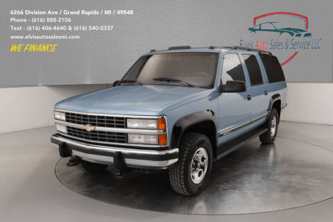 1992 Chevrolet Suburban for sale at Elvis Auto Sales LLC in Grand Rapids MI