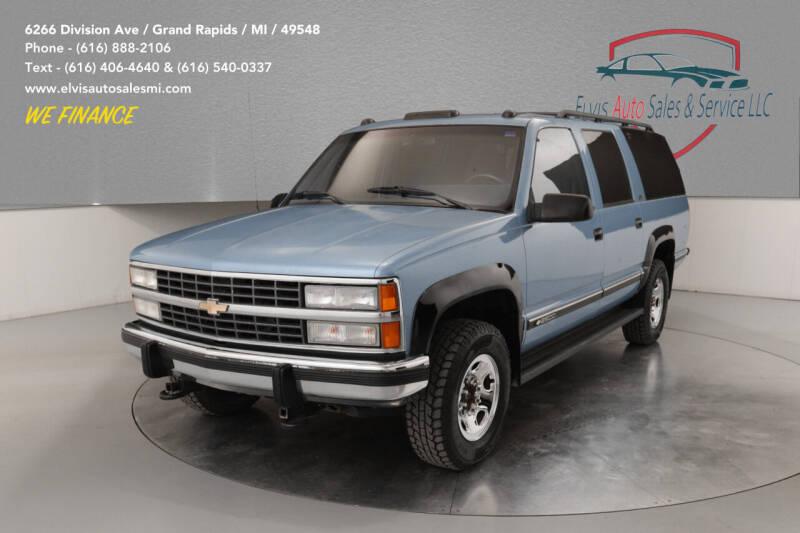 1992 Chevrolet Suburban for sale at Elvis Auto Sales LLC in Grand Rapids MI