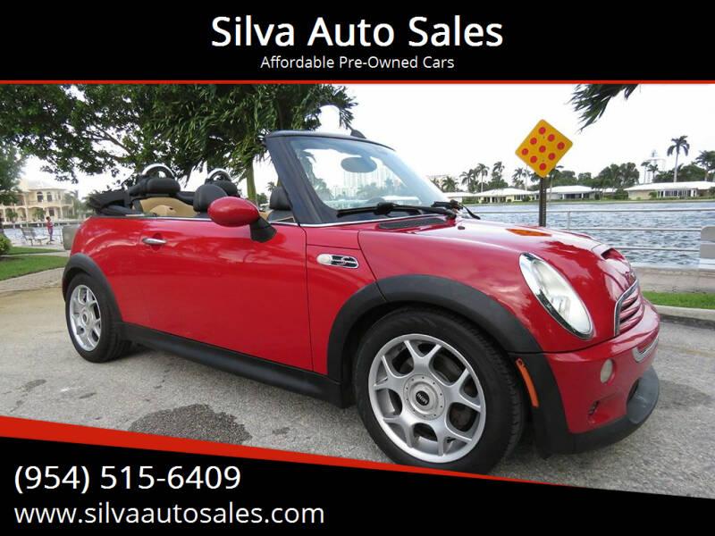 2008 MINI Cooper for sale at Silva Auto Sales in Pompano Beach FL