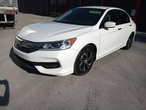 2016 Honda Accord for sale at Ven-Usa Autosales Inc in Miami FL