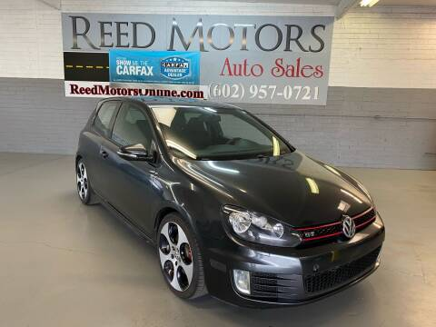 2010 Volkswagen GTI for sale at REED MOTORS LLC in Phoenix AZ