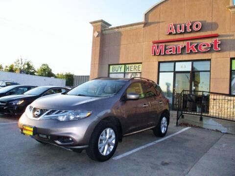 2012 Nissan Murano for sale at Auto Market in Oklahoma City OK