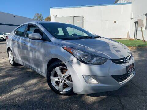 2013 Hyundai Elantra for sale at JerseyMotorsInc.com in Teterboro NJ