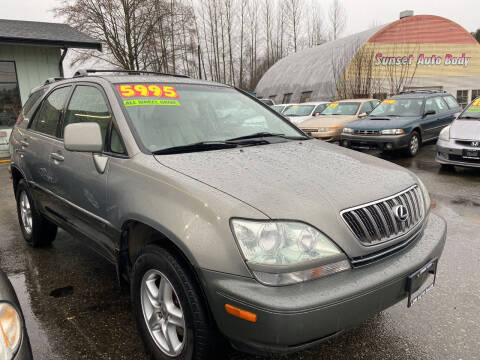 2002 Lexus RX 300 for sale at Low Auto Sales in Sedro Woolley WA