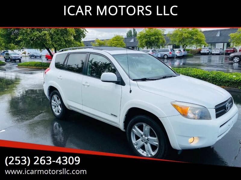 2008 Toyota RAV4 for sale at ICAR MOTORS LLC in Federal Way WA