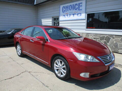 2010 Lexus ES 350 for sale at Choice Auto in Carroll IA