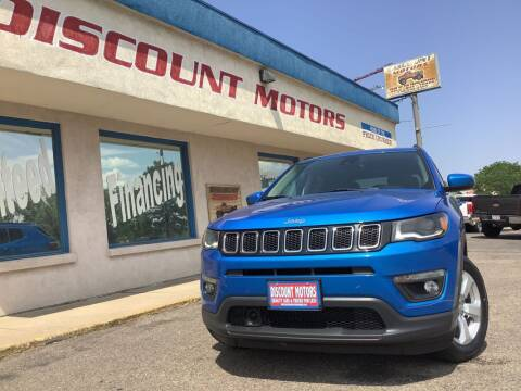2018 Jeep Compass for sale at Discount Motors in Pueblo CO
