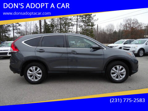 2014 Honda CR-V for sale at DON'S ADOPT A CAR in Cadillac MI