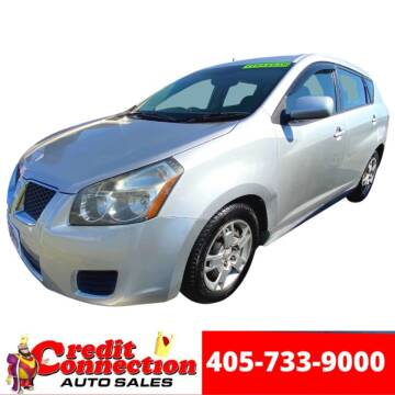 2010 Pontiac Vibe for sale at Credit Connection Auto Sales in Midwest City OK