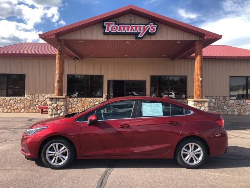 2017 Chevrolet Cruze for sale at Tommy's Car Lot in Chadron NE
