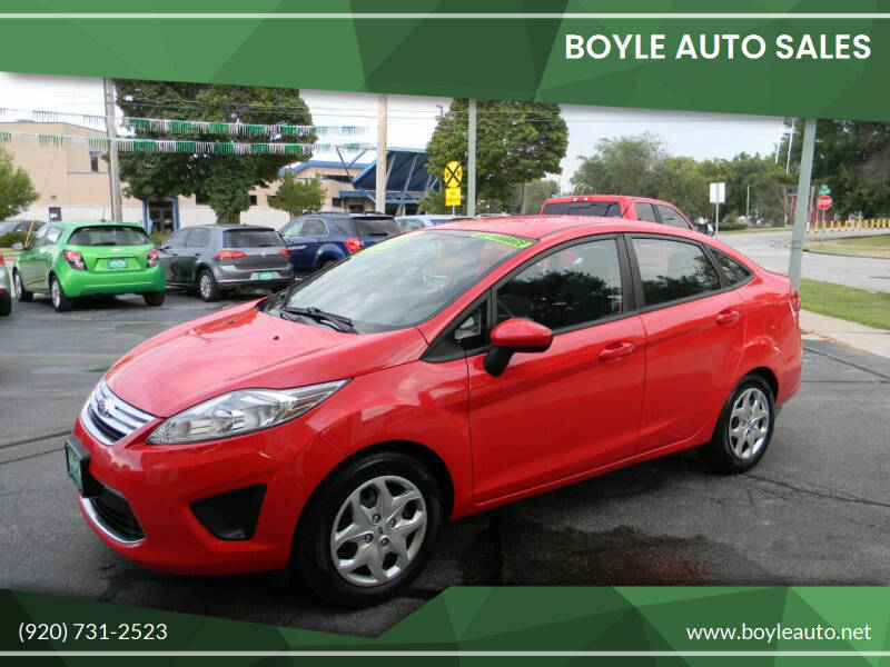 2012 Ford Fiesta for sale at Boyle Auto Sales in Appleton WI