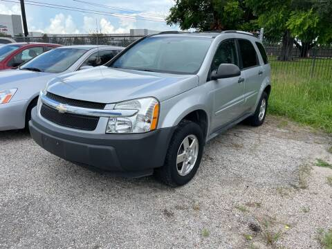 2005 Chevrolet Equinox for sale at TWIN CITY MOTORS in Houston TX