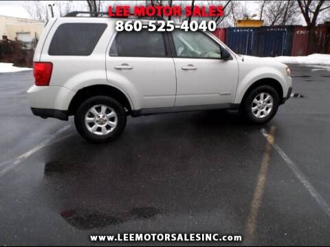 2008 Mazda Tribute for sale at Lee Motor Sales Inc. in Hartford CT