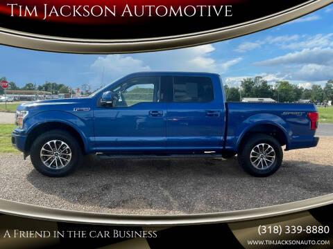 2018 Ford F-150 for sale at Tim Jackson Automotive in Jonesville LA