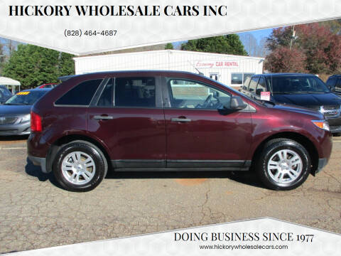 2011 Ford Edge for sale at Hickory Wholesale Cars Inc in Newton NC