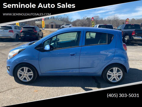 2014 Chevrolet Spark for sale at Seminole Auto Sales in Seminole OK