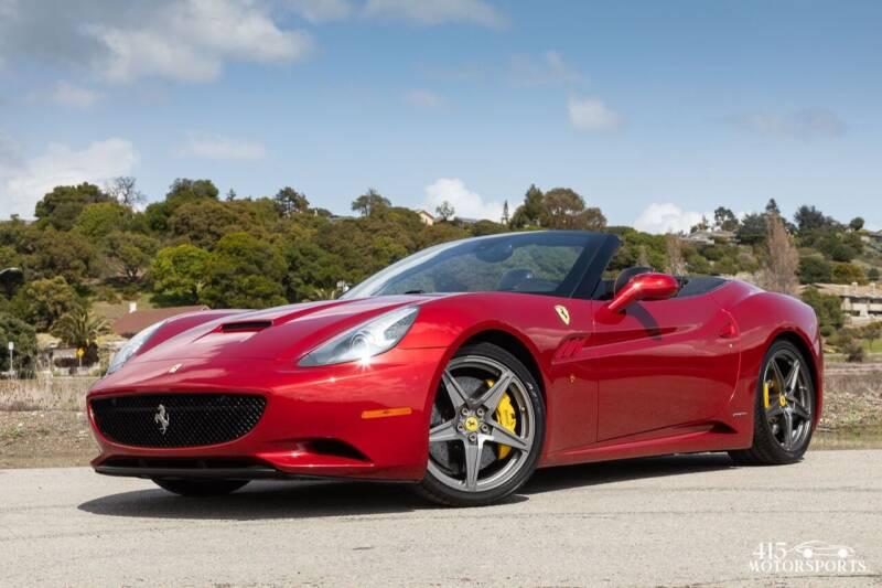2013 Ferrari California for sale at 415 Motorsports in San Rafael CA