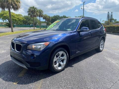 2014 BMW X1 for sale at Lamberti Auto Collection in Plantation FL