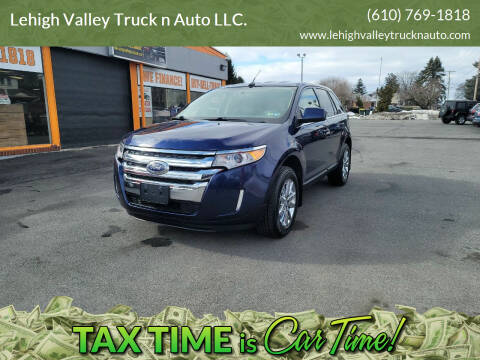 2011 Ford Edge for sale at Lehigh Valley Truck n Auto LLC. in Schnecksville PA