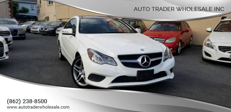 2014 Mercedes-Benz E-Class for sale at Auto Trader Wholesale Inc in Saddle Brook NJ