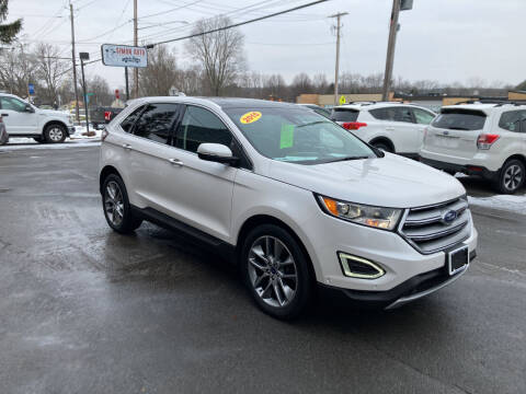 2015 Ford Edge for sale at JERRY SIMON AUTO SALES in Cambridge NY