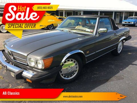 1987 Mercedes-Benz 560-Class for sale at AB Classics in Malone NY