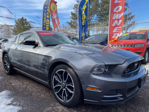 2014 Ford Mustang for sale at Duke City Auto LLC in Gallup NM