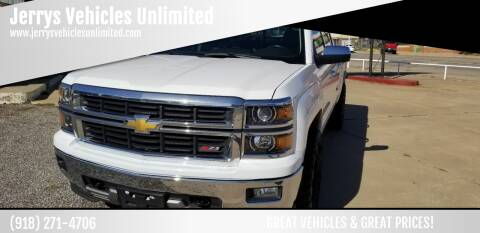2014 Chevrolet Silverado 1500 for sale at Jerrys Vehicles Unlimited in Okemah OK
