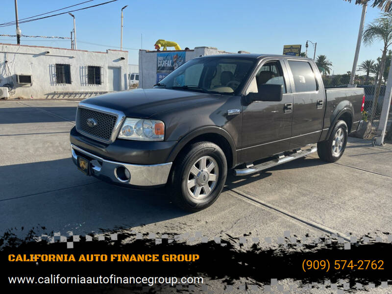 2006 Ford F-150 for sale at CALIFORNIA AUTO FINANCE GROUP in Fontana CA