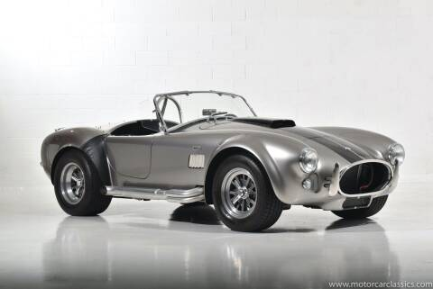 1965 Shelby Cobra for sale at Motorcar Classics in Farmingdale NY
