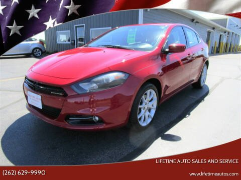 2013 Dodge Dart for sale at Lifetime Auto Sales and Service in West Bend WI