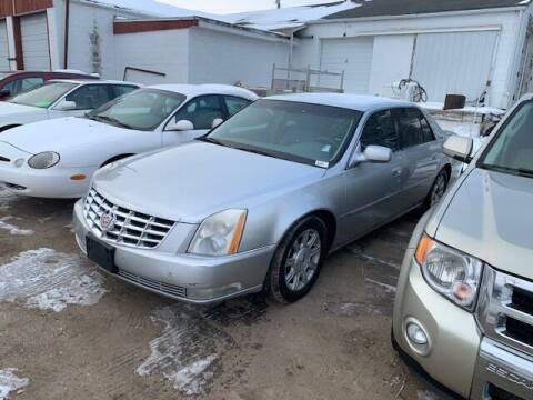 2009 Cadillac DTS for sale at Four Boys Motorsports in Wadena MN