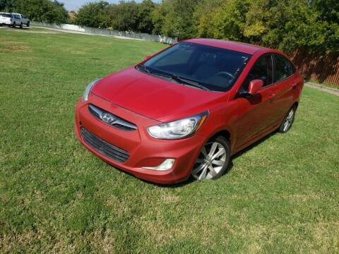 2012 Hyundai Accent for sale at El Jasho Motors in Grand Prairie TX