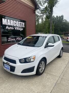 2016 Chevrolet Sonic for sale at Marcotte & Sons Auto Village in North Ferrisburgh VT