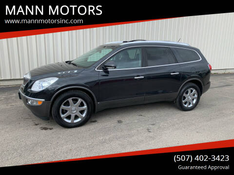 2010 Buick Enclave for sale at MANN MOTORS in Albert Lea MN