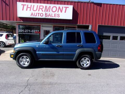 2006 Jeep Liberty for sale at THURMONT AUTO SALES in Thurmont MD