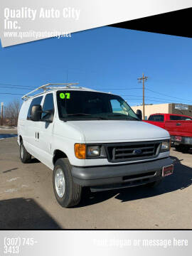 2007 Ford E-Series Cargo for sale at Quality Auto City Inc. in Laramie WY