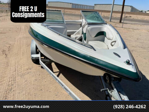 1999 Crownline  202 BR for sale at FREE 2 U Consignments in Yuma AZ