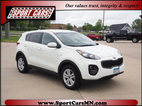 2017 Kia Sportage for sale at SPORT CARS in Norwood MN