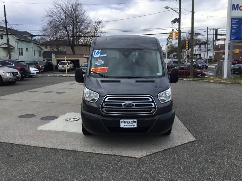 2016 Ford Transit Passenger for sale at Steves Auto Sales in Little Ferry NJ