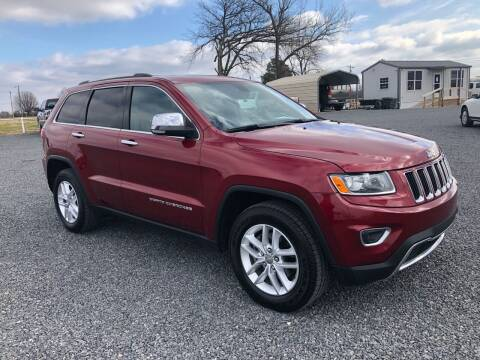 2015 Jeep Grand Cherokee for sale at RAYMOND TAYLOR AUTO SALES in Fort Gibson OK