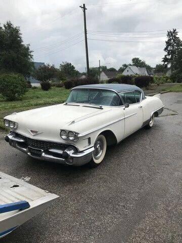 1958 Cadillac Eldorado for sale at MICHAEL'S AUTO SALES in Mount Clemens MI