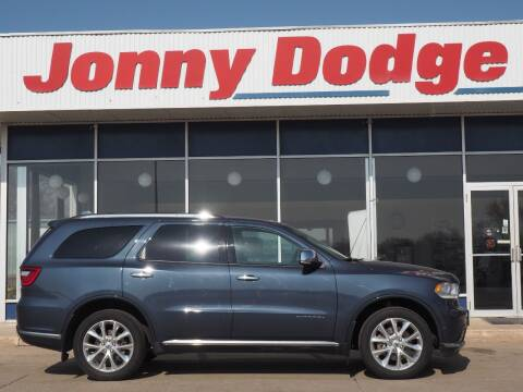 2020 Dodge Durango for sale at Jonny Dodge Chrysler Jeep in Neligh NE