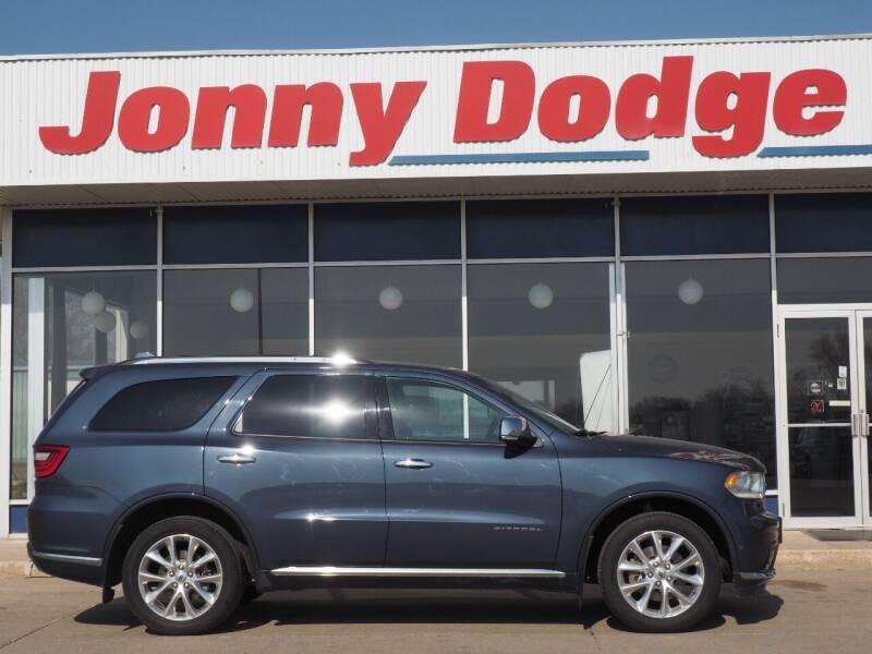 2020 Dodge Durango for sale at Jonny Dodge Chrysler Jeep in Neligh NE