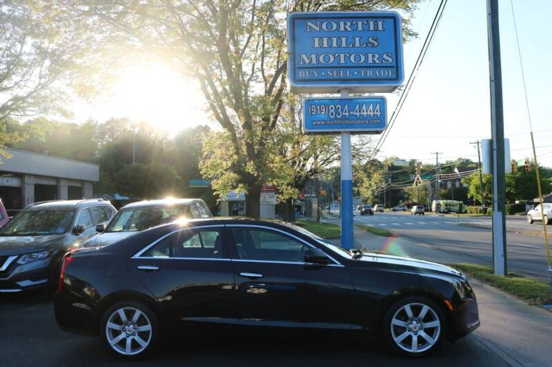 2013 Cadillac ATS for sale at North Hills Motors in Raleigh NC