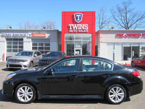 2013 Subaru Legacy for sale at Twins Auto Sales Inc in Detroit MI