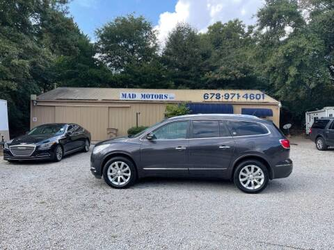 2013 Buick Enclave for sale at Mad Motors LLC in Gainesville GA