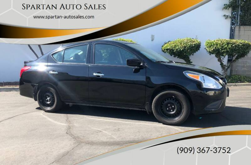 2016 Nissan Versa for sale at Spartan Auto Sales in Upland CA
