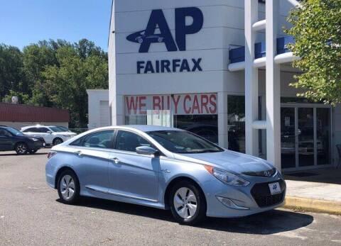 2014 Hyundai Sonata Hybrid for sale at AP Fairfax in Fairfax VA