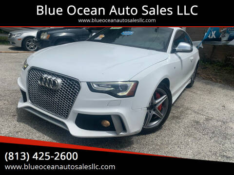 2009 Audi S5 for sale at Blue Ocean Auto Sales LLC in Tampa FL